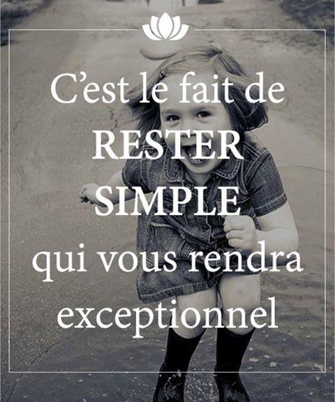 SIMPLE ET EXCEPTIONNEL-