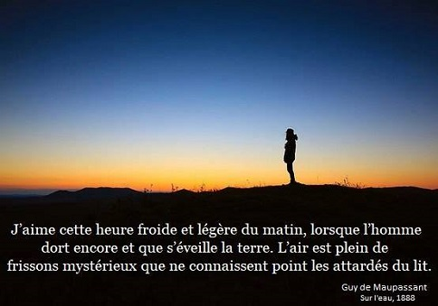 HEURE MATINALE