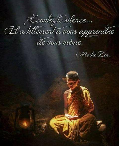 ECOUTER LE SILENCE