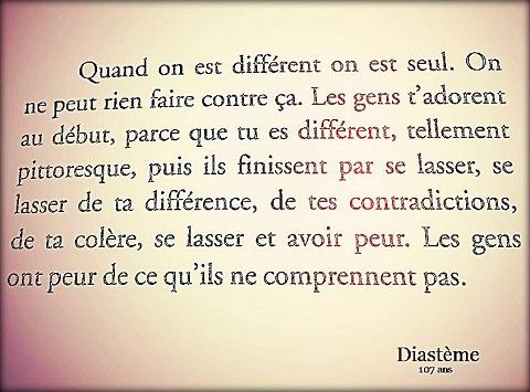 DIFFERENT-