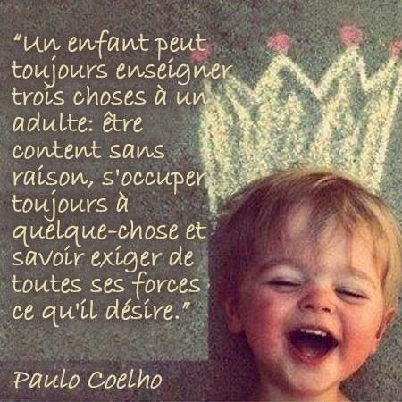 UN ENFANT UN ADULTE