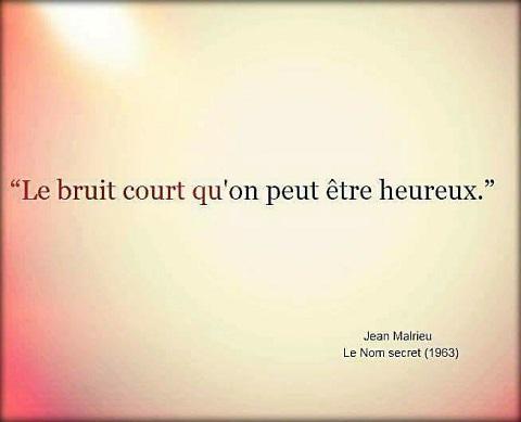 LE BRUIT COURT