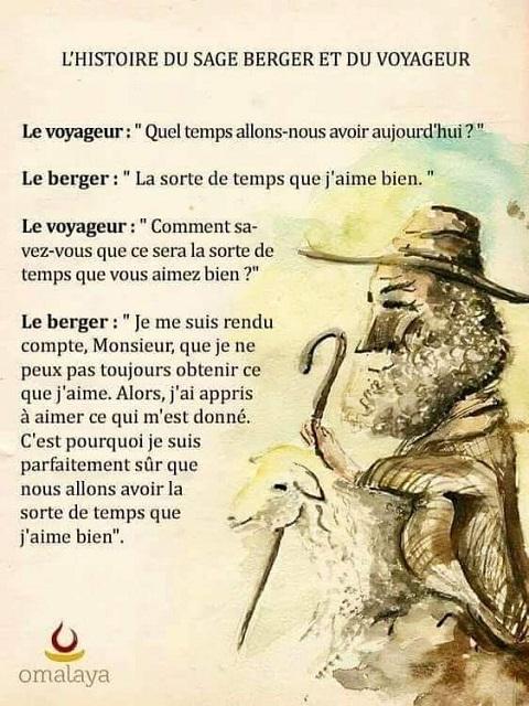 LE BERGER ET LE VOYAGEUR
