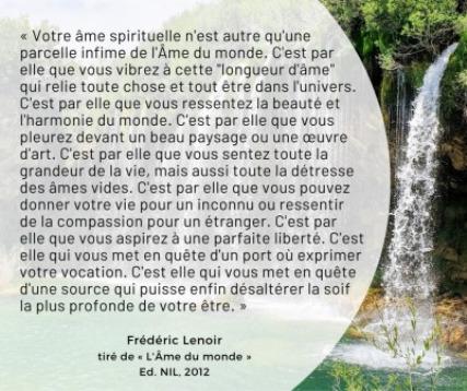 L-AME DU MONDE-L-AME SPIRITUELLE