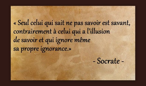 SAVANT ET IGNORANT